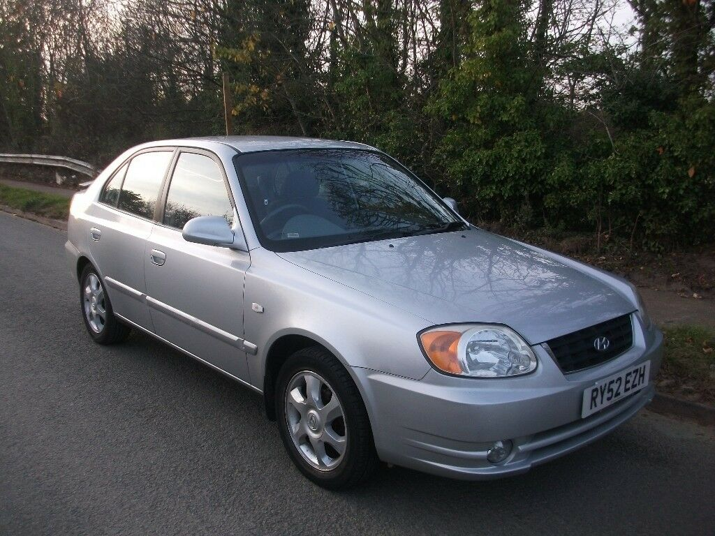 HYUNDAI ACCENT 1.6 CDX MOT NOVEMBER 2018