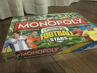 Brand new unopened monopoly world football stars
