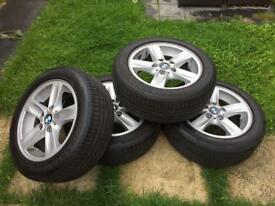 BMW 1 Series E87 E93 E93 various others, Alloys with Runflat Tyres