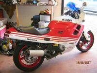 Classic 1989 Honda CBR1000F Low Mileage