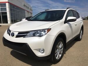 2015 Toyota RAV4 LIMITED, ONE OWNER, LEATHER, LOW KM