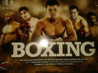 espn boxing box set 6 discs never used.