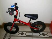 Stompee balance bike with brake