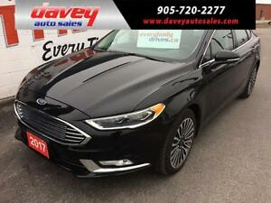 2017 Ford Fusion SE ALL WHEEL DRIVE, LEATHER INTERIOR, SUNROOF