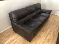 Dalmore 3 Seater leather Sofa