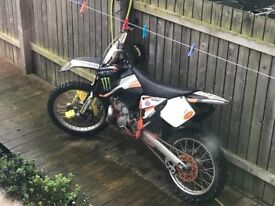 Ktm sx 2004 full fmf v force reeds new tyres new rebuild on rear wheel newish chain and sprockets