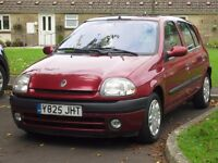 Renault Clio 1.4 16v Alize 5dr, AUTOMATIC, AIR CON, NEW MOT, 2001