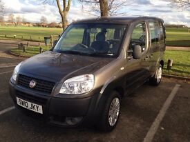 Fiat DOBLO (2010) Petrol ONE OWNER 1.4cc Petrol MPV/Van MOT Hpi Clear MINT - P/x Welcome