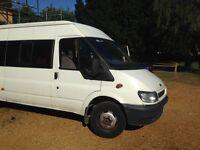 Ford transit mini bus 3+6 seats
