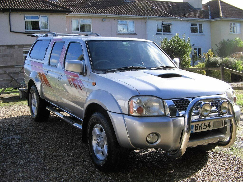 2004 Nissan Navara Rally Raid In Silver In Langport