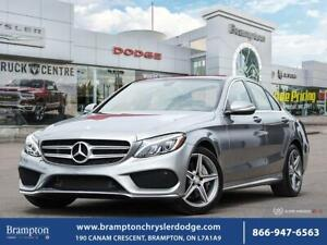 2015 Mercedes Benz C-Class C 300*4MATIC*TURBOCHARGED*FULLY LOADE