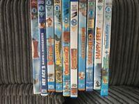 Childrens DVD's incl Madagascar, Happy Feet, Open Season etc