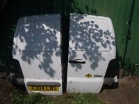 Mercedes rear van doors £25 each