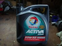 20/50 oil by Total - 5 ltrs