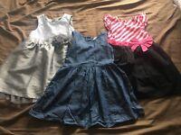 Girls Dresses Age 2-3 Years bundle £5