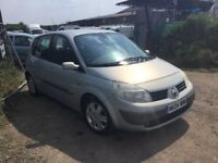2004 RENAULT SCENIC FAMILY CAR IN VERY CLEAN CONDITION DRIVES SUPERB 1 yrs MOT ANYTRIAL PX WELCOME