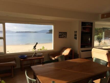 beach front holiday accommodation Dover Huon Valley Preview
