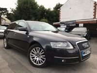 Audi A6 Avant 2.0 TDI Automatic Sat/Nav Tan Leather Seats Full Service History 12 Months MOT