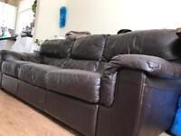 Living room sofa for sale. 3 seater