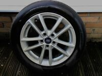 Ford Focus 16 inch alloy wheel & tyre