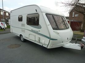 Abbey Maverick Touring Caravan & FREE Starter Pack