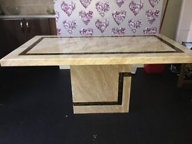 Lovely Marble Top Table (Radcliffe M26)