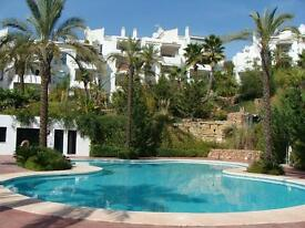 Large luxury frontline golf apt FOR SALE/EX WEYMOUTH/PORT-Spanish Golf Property-Holiday Home-Spain