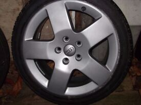 Audi 17 inch Alloy Wheels and Tyres