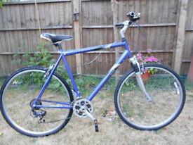 Raleigh Bike 27 inch Wheels 22 inch Frame 18 Gears