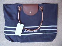 NEW with tag and in original packaging JoJo Maman Bebe navy blue folding buggy bag. £8 ovno.