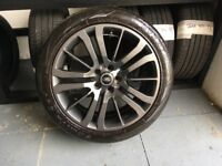 ALLOYS X 4 OF 20 INCH GENUINE RANGEROVER SPORT HSE FULLY POWDERCOATED IN A STUNNING ANTHRACITE NICE