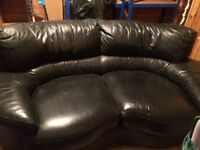 Leather sofa in great condition