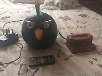 Angry birds iPod dock/speaker