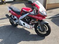 1998 Yamaha 600 and Suzuki 600