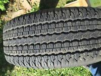 2 Tires for SUV DUNLOP 255/65R16