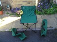 Camping Picnic Chair. Lightweight folding with carry bag