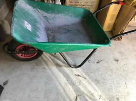 Used once wheelbarrow