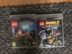 Lego Batman and Harry Potter Games