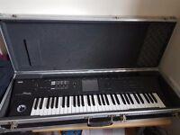 Soundcraft Mixer E12 ,Korg M50 +Flight Case .lexicon mx300, Roland sd 50, Stand Keyboard 3Tier