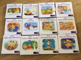 """Winnie the Pooh """"hard back"""" Books. X24 in total."""