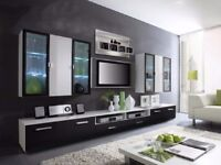 Living room furniture set / display wall unit TV stand shelfs