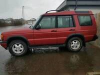 Land rover discovery sx model 7 seater tow bar