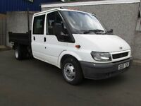 FORD TRANSIT TIPPER FOR SALE .. 1 YEARS MOT....READY FOR WORK!!!