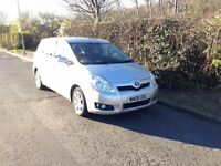 TOYOTA VERSO 2008 2.2 D-4D SR DIESEL, Lady Owner, MANUAL 7 SEATER MPV Silver