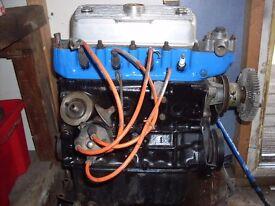MORRIS MARINA A+ 1275 ENGINE AND BOX,MORRIS MINOR,PLUS BITS