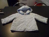 boys jacket blue colour 9-12 months old