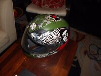 Men's Sparx Graphic Motorcycle Helmet small size