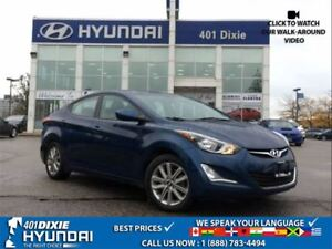 2016 Hyundai Elantra SPORT|1 OWNER|BACK UP CAMERA| ALLOYS|HEATED