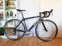 Dolan Mythos Full Carbon Road Bike 53cm Ultegra 2x10 Mavic Aksium Race - Serviced