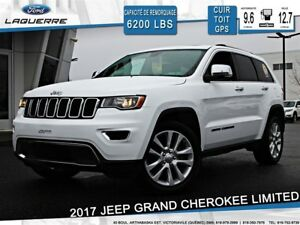 2017 Jeep Grand Cherokee LIMITED**CUIR*TOIT*GPS*CAMERA*BLUETOOTH